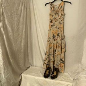 💕3/$30Petite Sophisticate 100% pure Silk dress